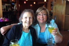 Mom and Marcia Mothers day 15
